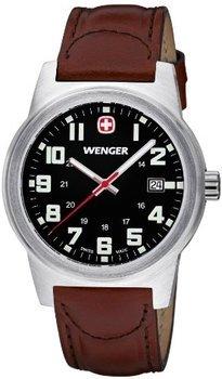 [Amazon.co.uk] Wenger Field Classic 72800W Edelstahluhr mit Lederarmband und Saphirglas für 73,87€ incl.Versand nach Deutschland!