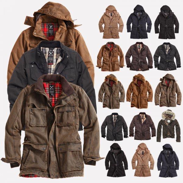 [eBay WOW] SURPLUS RAW Vintage XYLONTUM™ Winter Jacken & Parkas / Damen & Herren Modelle