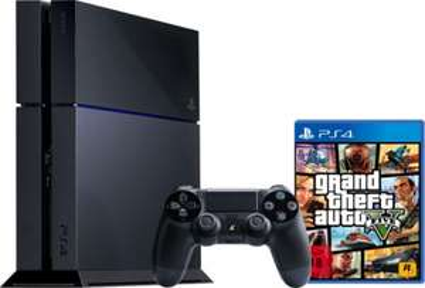 Sony PlayStation 4 / PS4 500GB + Grand Theft Auto 5 für 399€ - Ebay