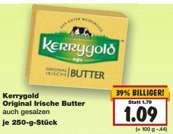 Kaufland - Kw 5 - Kerrygold Butter zu 1,09€.