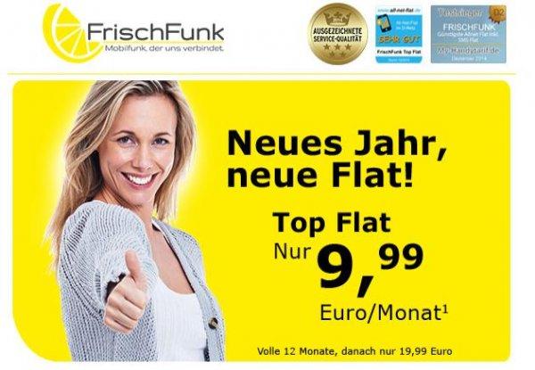 AllNet Flat für nur 9,99 € im Vodafone-Netz