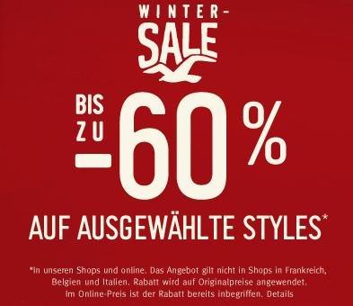 Hollister Winter Sale bis 60% reduziert + 25% Gutschein auf alles!
