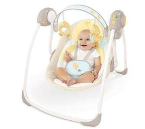 "Elektrische Babyschaukel Bright Starts ""Comfort and Harmony"" bei pixmania"