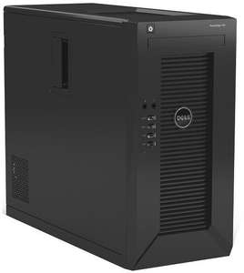 Dell T20 (Xeon E3-1225v3, 8GB RAM, 1TB HDD) + Slim-DVD-Brenner + 8GB USB-Stick - 383,79€ - cyberport.de
