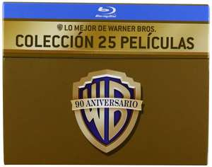 90 Jahre Warner Bros. Jubiläums-Edition - 25 Film Collection (27 Discs) [Blu-ray] inkl. Vsk für 87,80 € > [amazon.es]