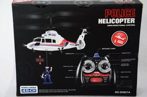 @Amazon Air Pair S4164 - Policestorm Pro 27 MHz 4.5 Kanal Gyro Mini Hubschrauber mit super Kranfunktion!
