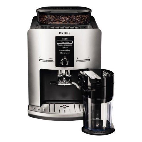 Krups EA829 E Latt'Espress Kaffeevollautomat silber OneTouch Cappuccino Funktion @eBay 379,00