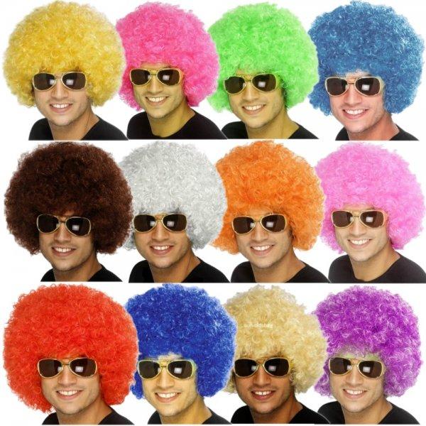 Afro Perücke in 13 Farben für nur 4,49 incl. Versand [Amazon]