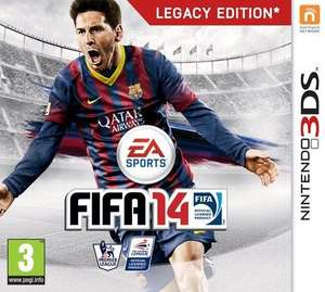Fifa 14 - Legacy Edition  Nintendo 3Ds