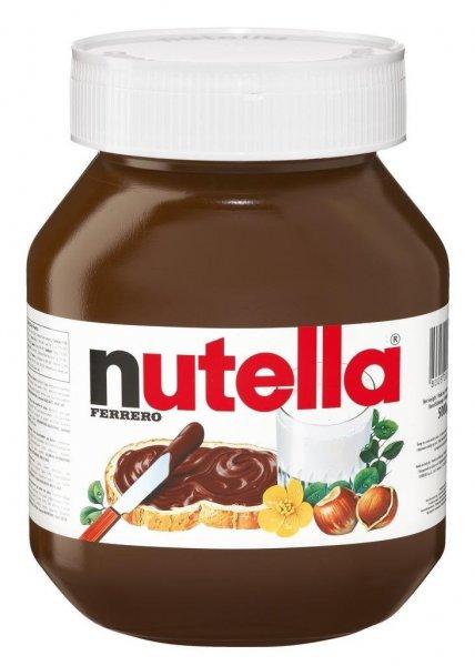 Nutella 800gr Glas