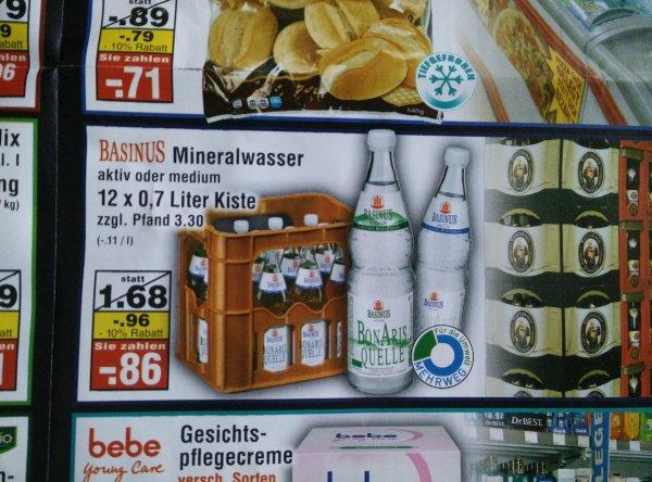 Basinus Mineralwasser 12x0,7l