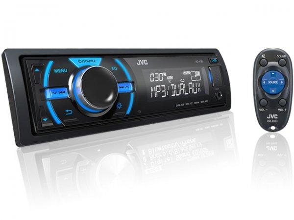 JVC KD-X30E Digital Media Receiver mit USB und Dual-Aux Autoradio für 39,99€ @ Null.de