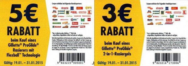 [Rosmmann] Gillette Fusion Proglide 2in1 Rasiergel für 1,99€
