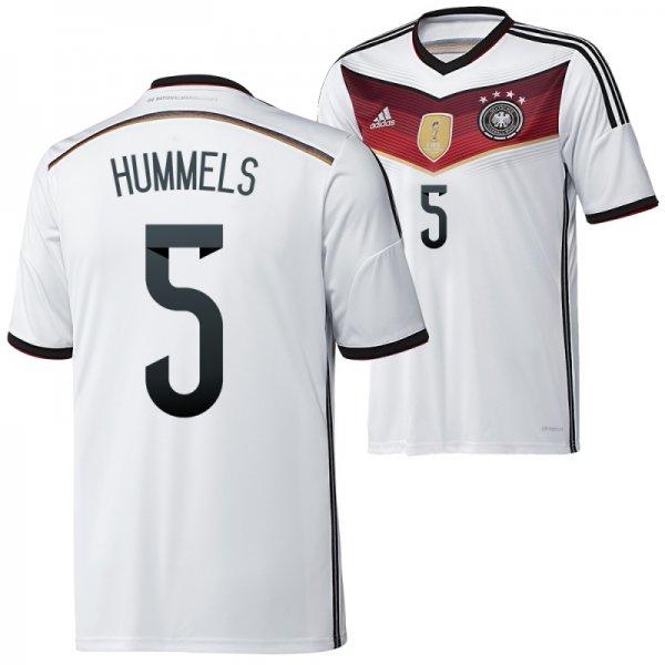 Adidas Deutschland Heim Trikot 2014/2015 HUMMELS 4 Sterne, effektiv 42,46€
