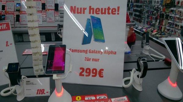 Mediamarkt Leipzig Brühl - Samsung Galaxy Alpha für 299€ ohne Vertrag