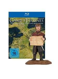 Game of Thrones Staffel 1-3 blu ray mit Sammlerfigur Tyrion