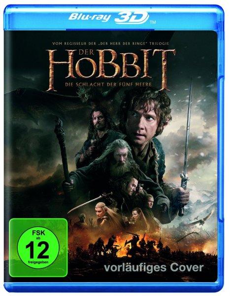 Der Hobbit: Die Schlacht der fünf Heere [3D Blu-ray] Vorbestellen