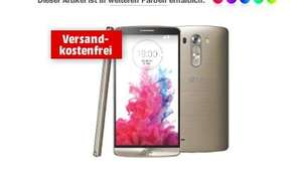 LG G3 32 GB Gold Media Markt 299 €, ALLES RAUS Angebote bei Media Markt