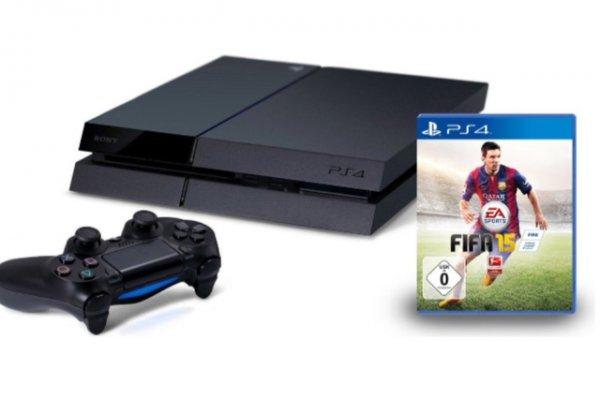 PS4 + FIFA 15 @amazon