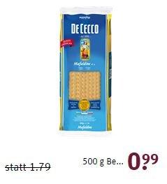 Tegut - DeCecco Nudeln verschiedene Sorten - 0,99