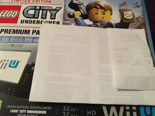 Wii U Premium Pack mit Lego City Undercover 199€ Expert  in Neustadt bei Coburg
