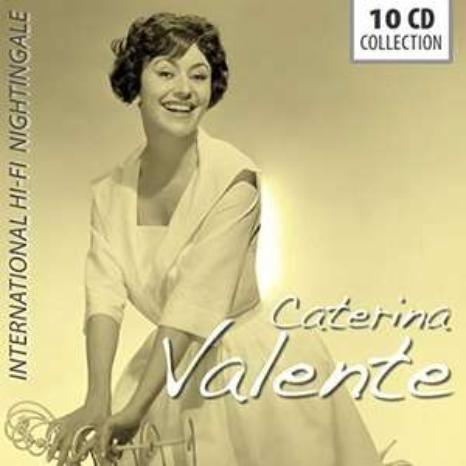 "Amazon Prime : CATERINA VALENTE 10-CD-Set ( 212 Songs) ""International Hi-Fi Nightingale"" für Nur 9,99 €"