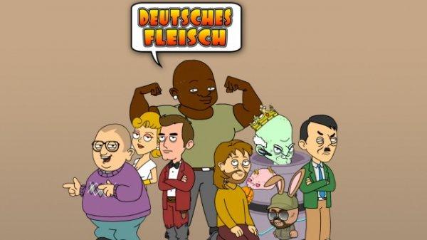 """gratis in der ZDF Mediathek -  """"Deutsches Fleisch"""" Zeichentrickserie aus Deutschland"""