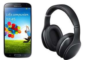 Samsung Galaxy S4 VE i9515 16GB + Samsung EO-AG900 Le­vel-Over-Kopf­hö­rer schwarz für 319,-€ +8,99 VSK@electronic4you