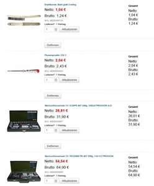 Proxxon Steckschlüsselsatz 1/4Zoll + 3/8Zoll + 1/2Zoll + Phasenprüfer + Drahtbürste = 80,47€ inkl. Versand