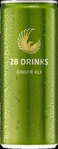 28Drinks Ginger Ale 42 cent die Dose