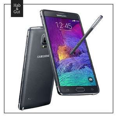 Samsung Galaxy Note 4 Schwarz / Black SM-N910F Neu und versiegelt - Einzelstück