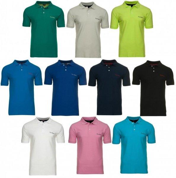 Pierre Cardin Polo Hemden in 11 verschiedenen Farben