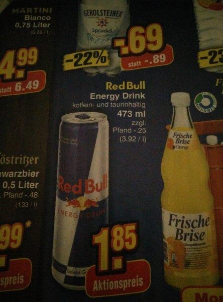 [Netto ohne Hund] Redbull 0,473 ab Montag 26.01 zu je 1,85€