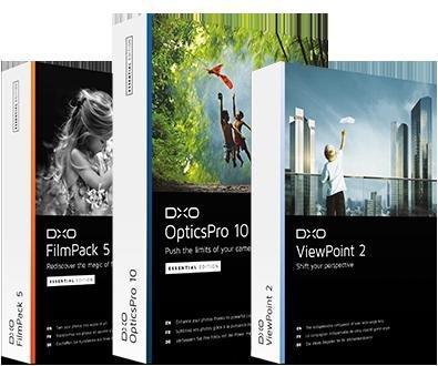 Dxo - Software mit bis zu 40% Rabatt