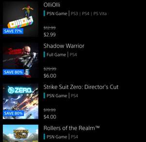 [US PSN] PS4  Shadow Warrior Digital