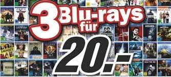 3 Blu-rays für 20 EUR @Amazon