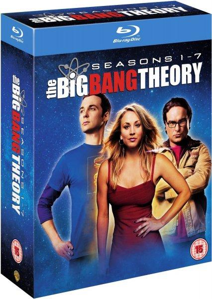 The Big Bang Theory Seasons 1-7 Blu-Ray [O-Ton] @amazon.co.uk