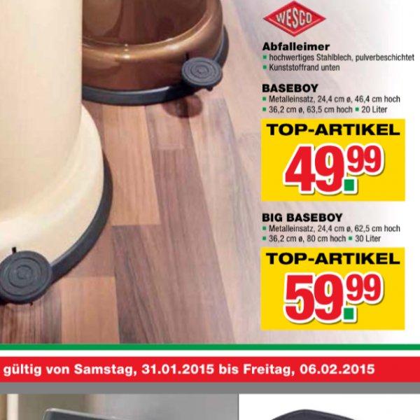 [Handelshof Gewerbe] Wesco Baseboy 20L am 03.02.15 in Schwerin
