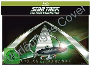 Star Trek: The Next Generation - Komplette Serie (41 Discs) Staffeln 1-7 für 137,95 € > [amazon.de] > Vorbestellung !