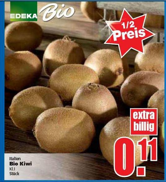 [Bundesweit? Marktkauf/Edeka] EDEKA Bio Kiwi (grün) 0,11€/Stück