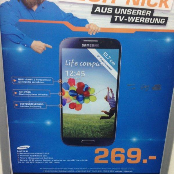 Samsung Galaxy S 4 Saturn Stuttgart 269,- €