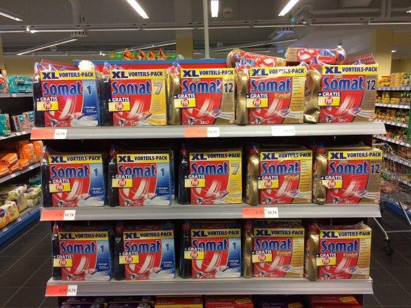 Somat XL Vorteilspack (38;40;52 od. 72 Tabs) + 500ml Pril im Sky - Supermarkt (Schleswig) [lokal]