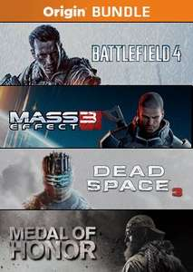 Origin MX: Action Bundle - Battlefield 4, Dead Space 3, Medal of Honor, Mass Effect 3