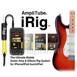 iRig Amplitube Gitarren-/Bass-Adapter für iPhone/iPad/Mac von BangGood (VP Amazon: 18€)