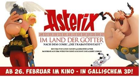 Kino Asterix 3D (Lokal HH & Umgebung)