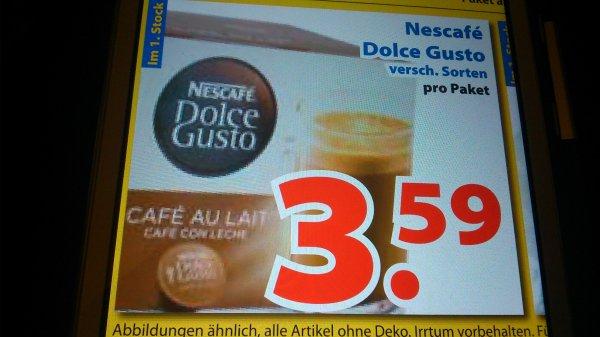 Dolce Gusto Kapseln  3,59 Euro  Lokal Venlo