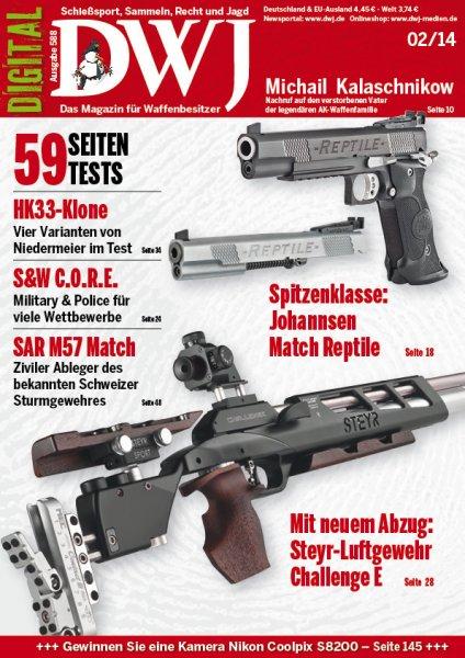 DWJ - Das Deutsche Waffen Journal - Ausgabe kostenlos als PDF