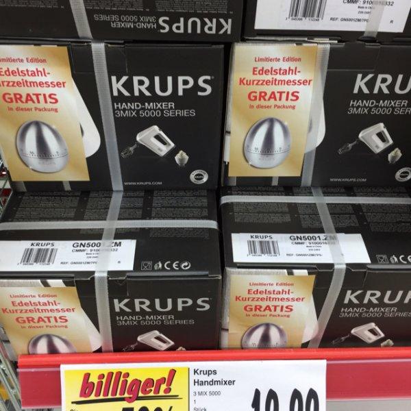 Krups Handmixer GN 5001 50% unter idealo