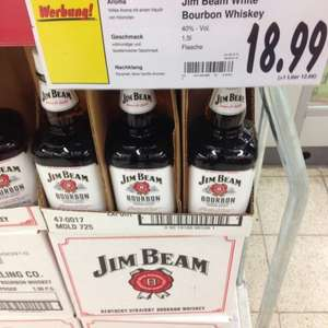 Jim Beam White Bourbon Whiskey 1,5l(Lokal???)