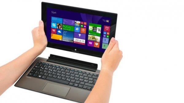 "Medion Akoya  P2212T Notebook/Tablet (Win 8.1,11,6"" FHD IPS, 4GB RAM, 64GB SSD & 500GB HDD) B-Ware für 279,99€ (B-Ware) @ Medion/ebay"